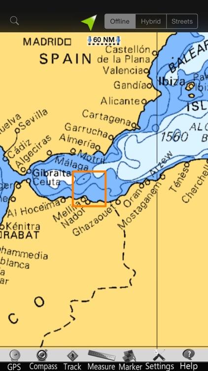 Melilla GPS Nautical Charts screenshot-4
