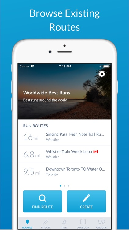 RunGo - The Best Routes to Run