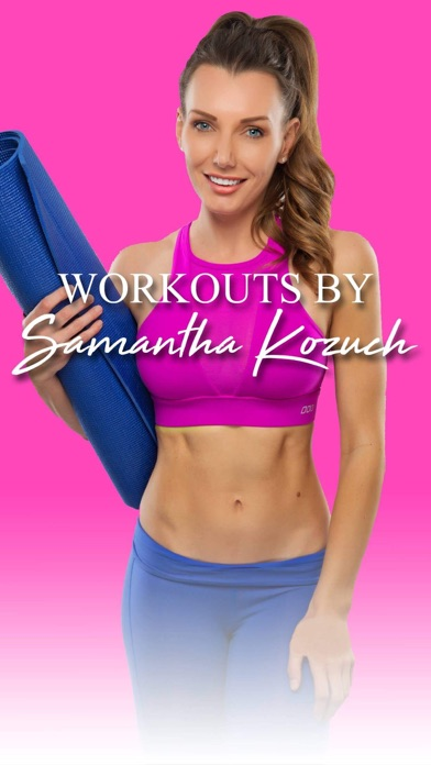 Workouts by Samantha Kozuchのおすすめ画像1