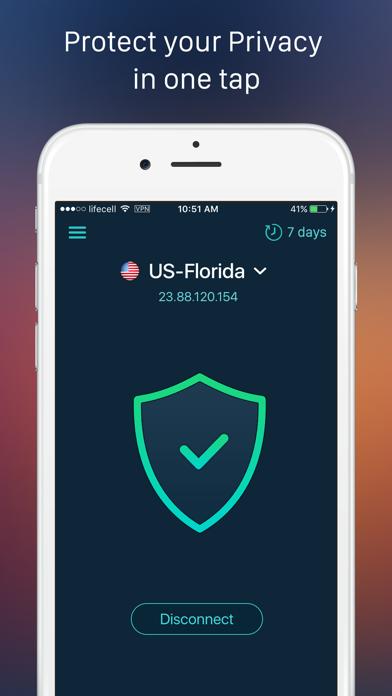 SurfPro VPN – Wifi Protection Screenshot on iOS