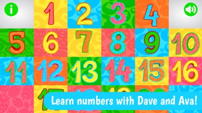 Numbers from Dave and Ava screenshot one