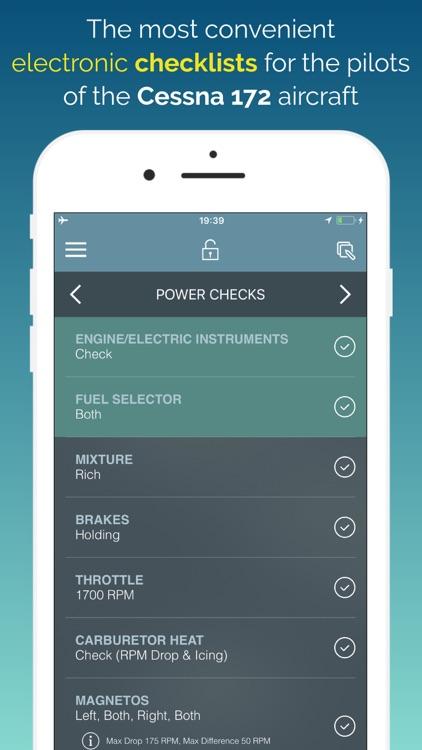 C172 Checklist & Scratchpad