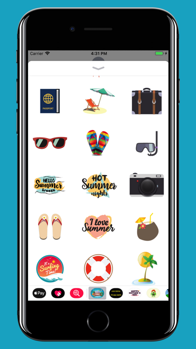 Summer is Coming - Stickers screenshot two