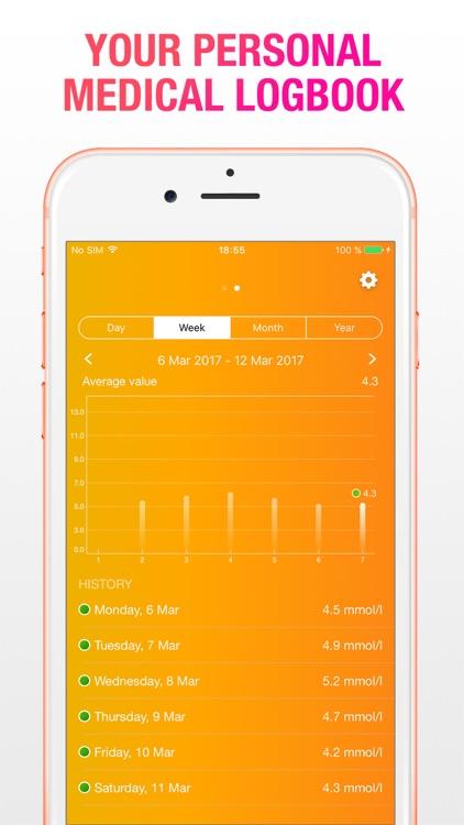 Diabetics Tracker screenshot-3