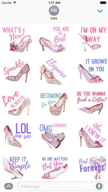 Life of Heels HeelMoji Sticker