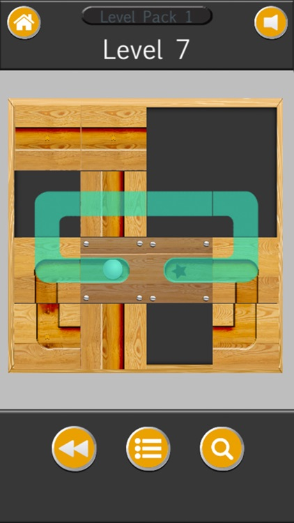 Ball rolls in labyrinth - Unblock & slide puzzle screenshot-4