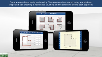 Quick3DPlan Mobile screenshot one