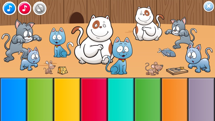 Piano Baby Games for Girls & Boys one year olds