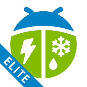 WeatherBug Elite app
