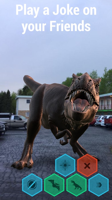 Monster Park - AR Dino World screenshot 5