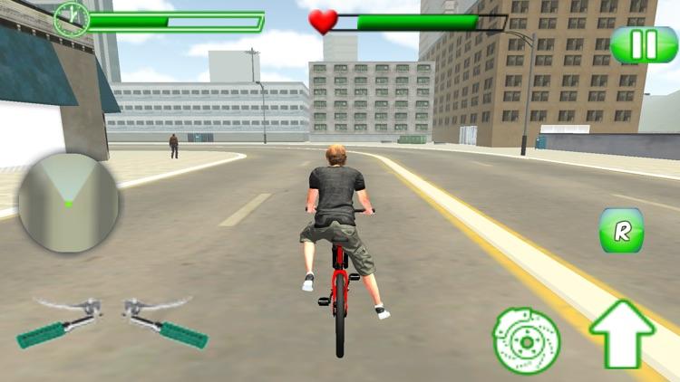 Hero Bicycle Race - FreeStyle BMX Stunt Man screenshot-4