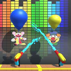 Activities of Water Gun Balloon Pop