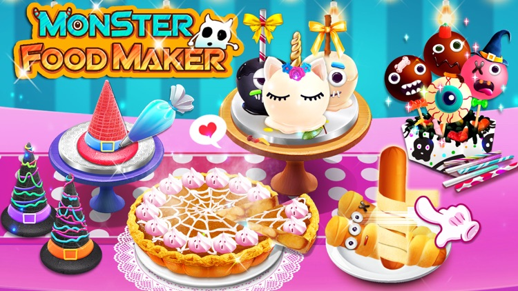 Halloween Monster Food Maker! screenshot-0