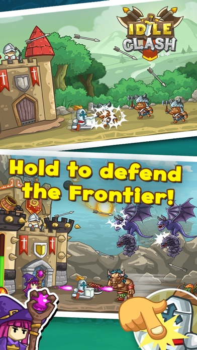 Screenshot #7 for Idle Clash - Frontier Defender