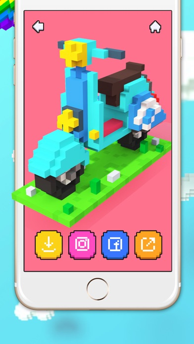 download Voxel - 3D Color by Number apps 3