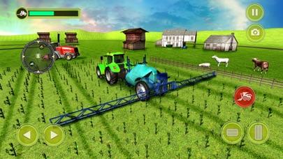 Echter Traktor Raserei Landwirt Simulator 18Screenshot von 4