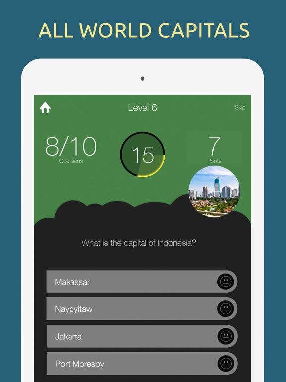 World Capitals Quiz Game | App Price Drops