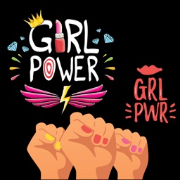 Girl Power Stickers!
