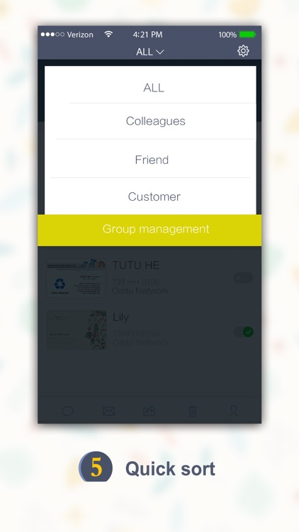 SamCard Pro 名刺認識 business card reader&scanner&ocr screenshot-4