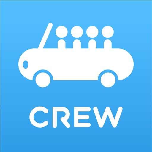 CREW - 快適な車移動を相乗りでお得に