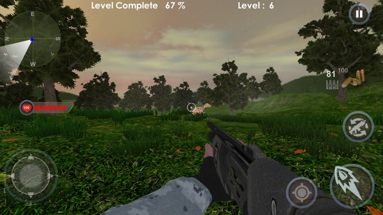 Shoot Deadly Dino For Survival screenshot-3