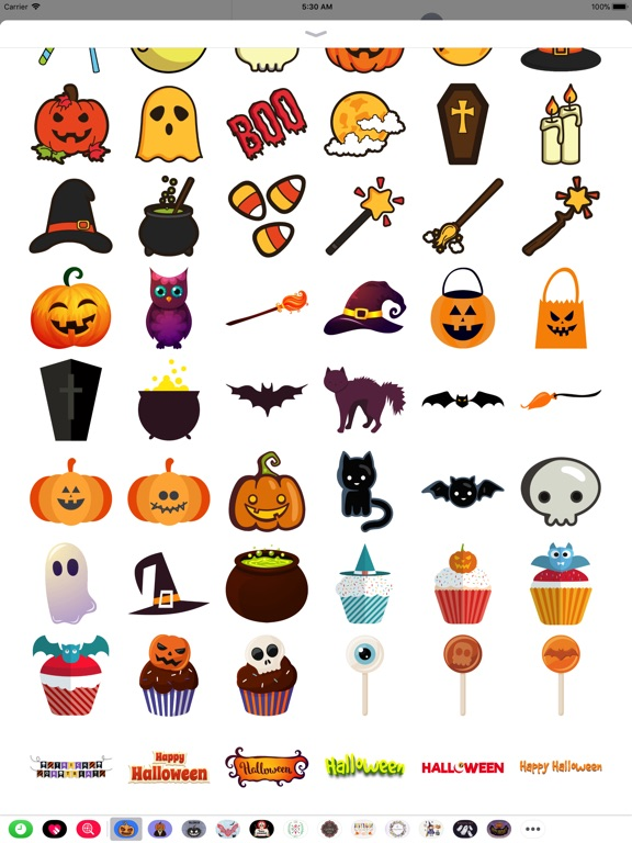 Halloween Elements Stickers screenshot 7
