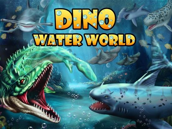 Dino Water World-Jurassic game на iPad