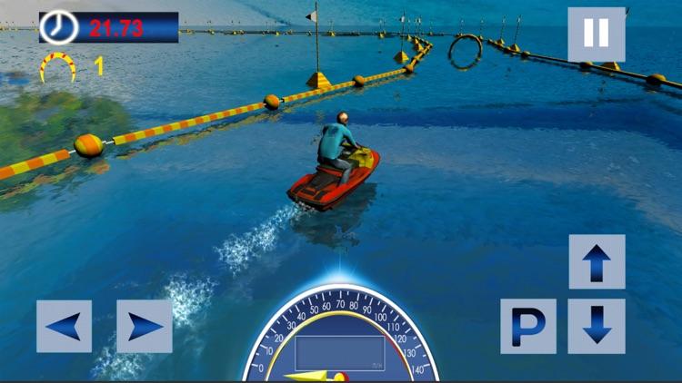 Water Surfing Speed Boat Racer screenshot-3