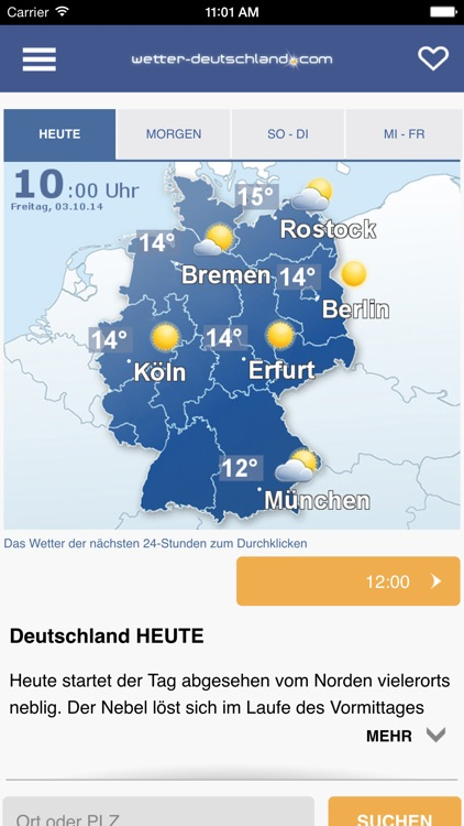 Wetter DE screenshot-0