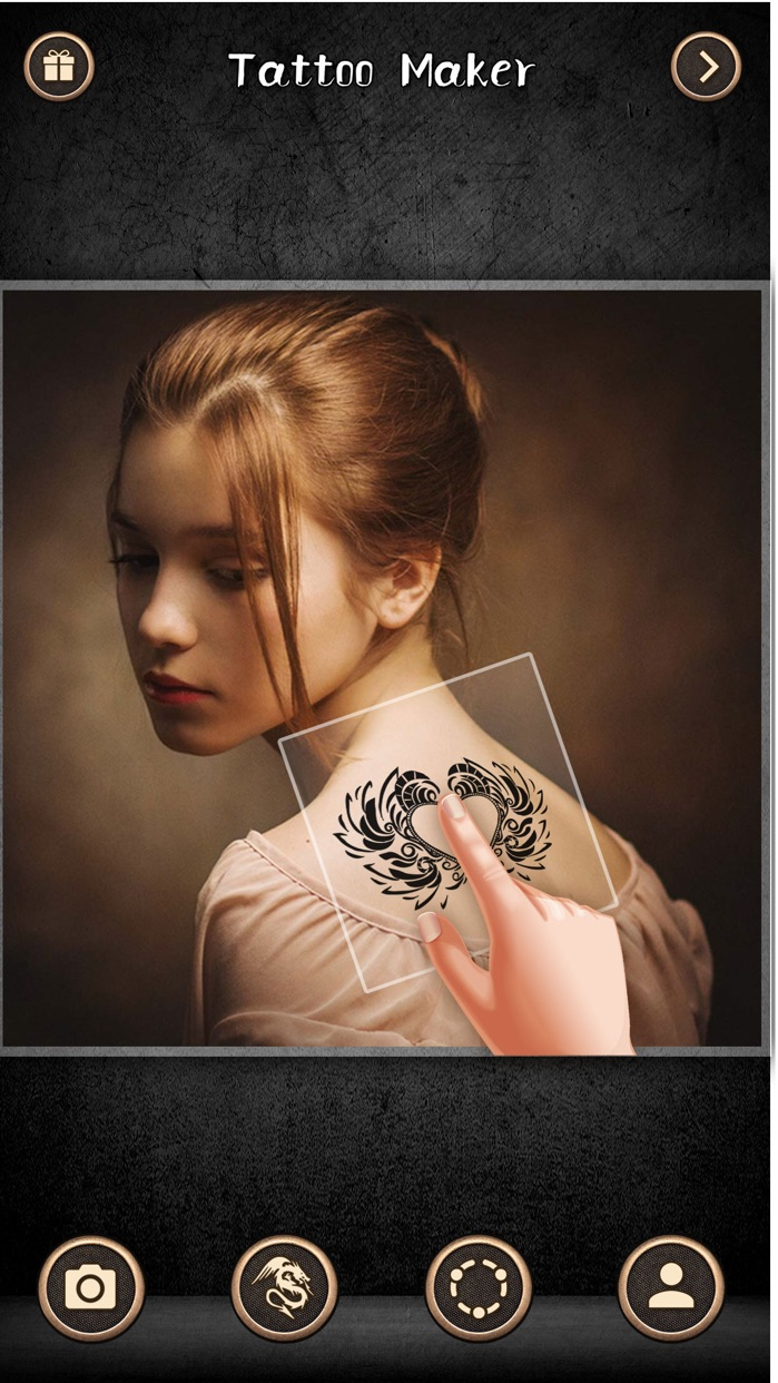 Virtual Tattoo Maker - Ink Art Screenshot