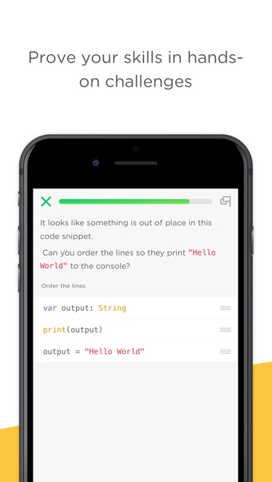 Mimo: Learn to Code Screenshot on iOS
