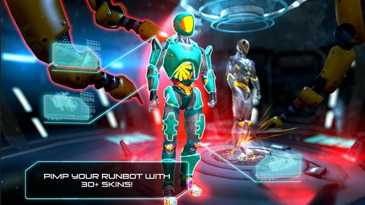 RunBot - Parkour Running Game screenshot-4