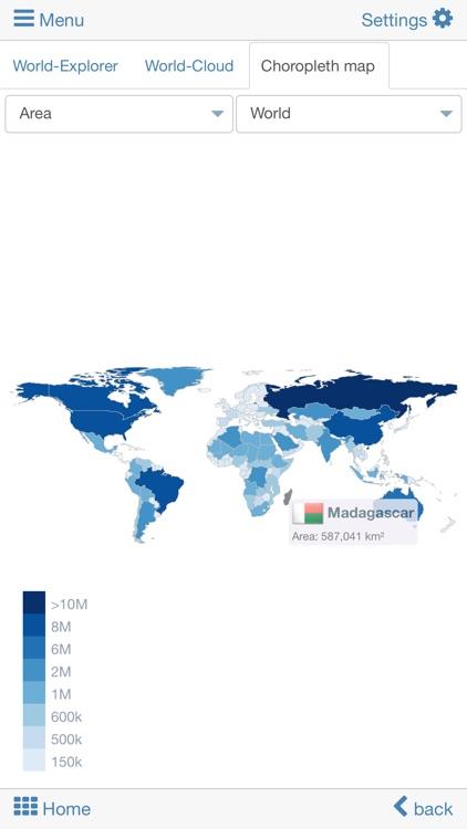 World atlas & world map MxGeo screenshot-5