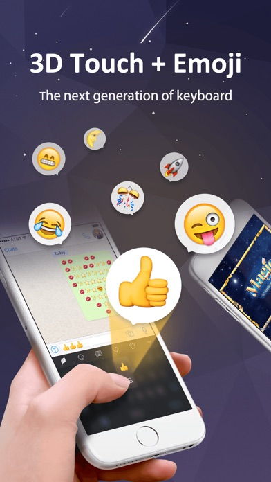 GO Keyboard-Emojis&Cool Themes ScreenShot3