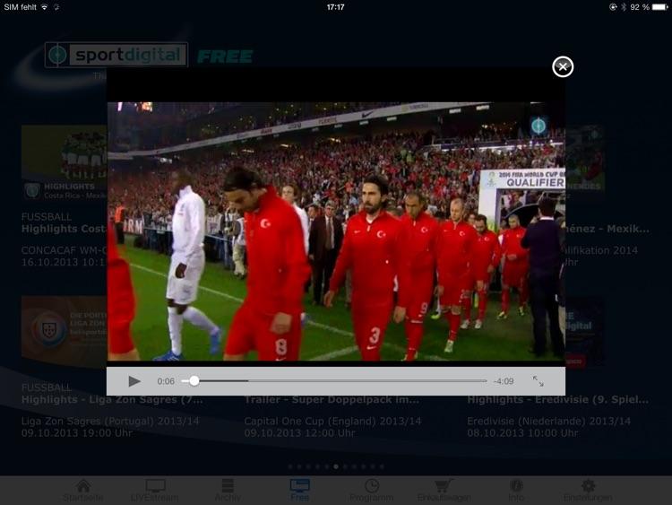 sportdigital – LIVE Fußball screenshot-4