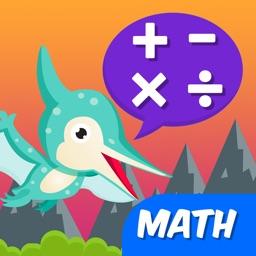 Dinosaurs Math - 3rd Grade