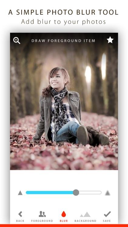 Blur - Portrait Photo Effect