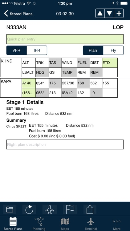 AvPlan EFB screenshot-2