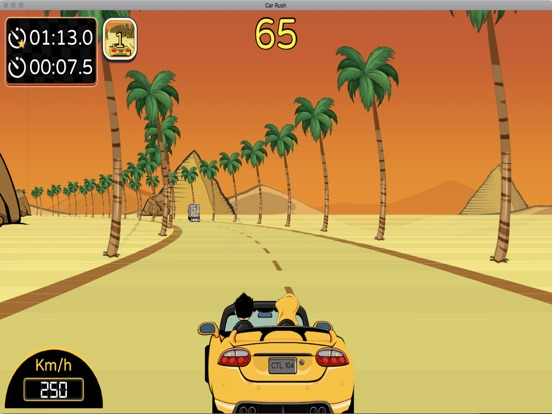 Car Rush 1980s screenshot 6