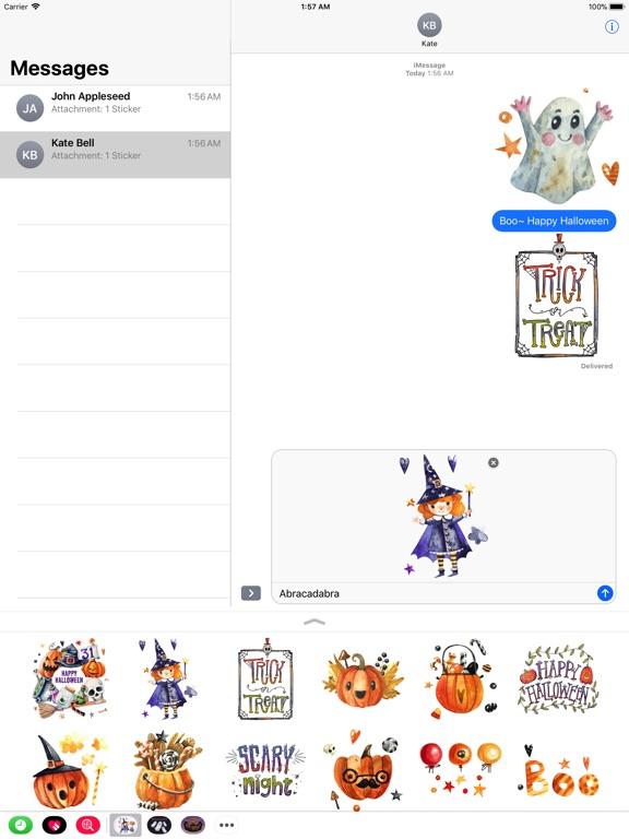 Nice Watercolor Halloween Pack screenshot 7