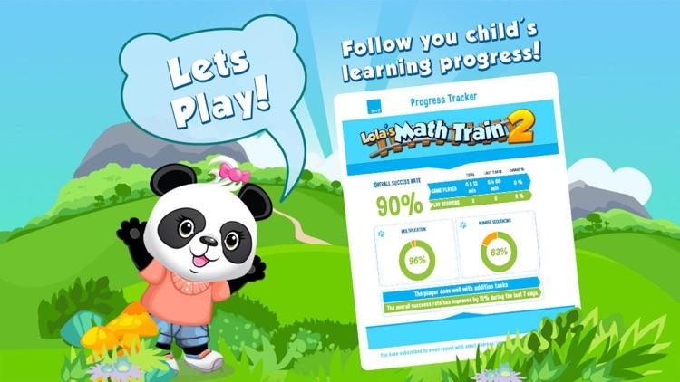Lola Panda's Math Train 2 screenshot-4