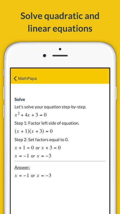 MathPapa - Algebra Calculator screenshot-3