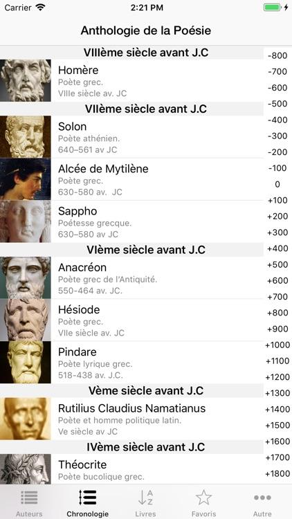 Anthologie de la Poésie screenshot-4