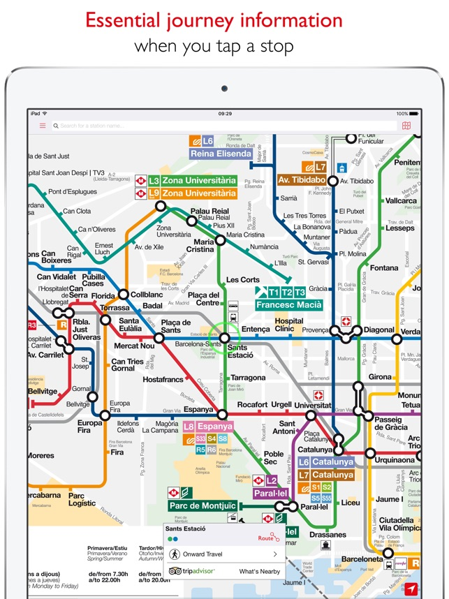 Barcelona Metro TMB Map on the App Store
