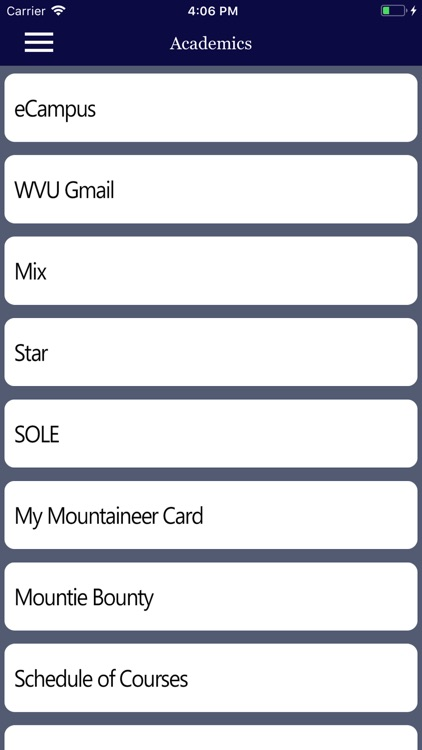 My Mountaineer Card >> Mywvu By Thomas Diffendal