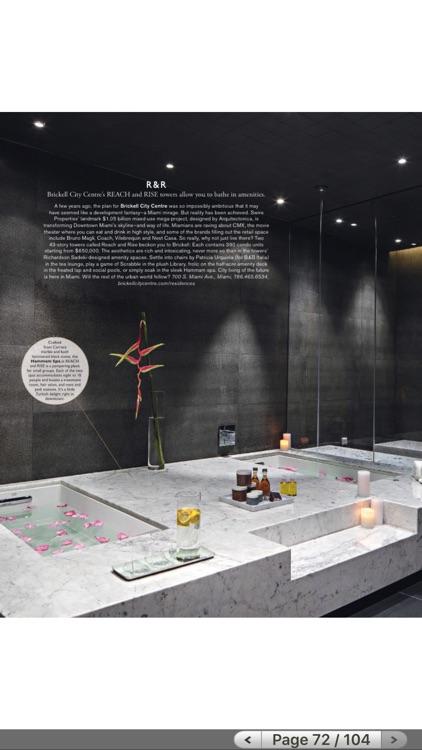 Modern Luxury Interiors South Florida Magazine screenshot-4