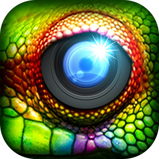ZooEyes - Blend Yr Face to Ultra Awesome Reptile or Wild Animal Eyes Split! iOS App