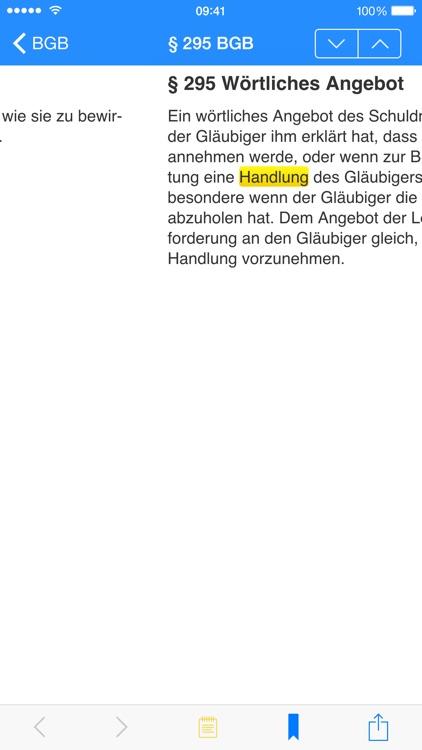 Gesetze ( Bund | Bayern | EU ) screenshot-3