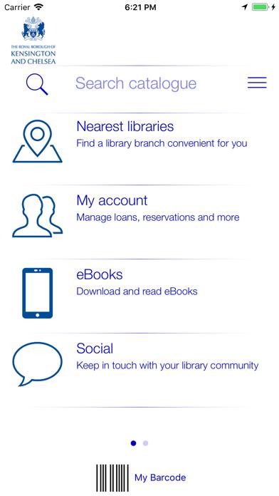 LBHF, RBKC & WCC Libraries screenshot three