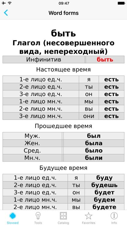 English <-> Russian Dictionary screenshot-4